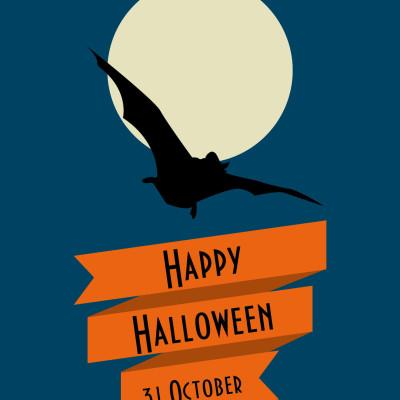 KK Halloween card