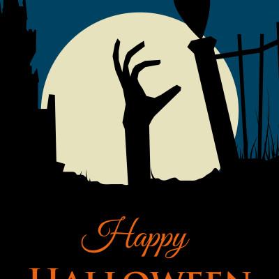 KK Halloween poster